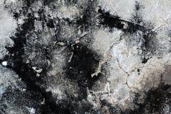Grungy цемент трескает стену стоковая фотография rf