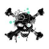 grungy череп Стоковое Фото