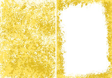 Grungy. Set of golden multilayered grungy backgrounds Royalty Free Stock Images