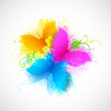 Grungy бабочка Стоковые Изображения