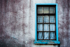Grungy abandoned house detail Royalty Free Stock Images
