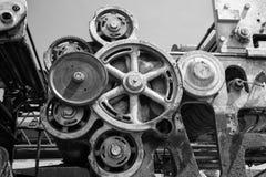 Grungy Abandoned Machinery Stock Photo