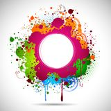 Grungy Abstract Background Royalty Free Stock Photos