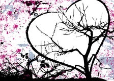 Grungy Abstract Love Design Raster