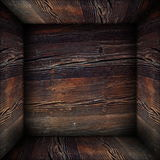 Grungy abstract wooden backdrop Royalty Free Stock Images