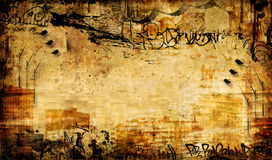 Grungy abstraction Royalty Free Stock Images