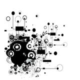 grungy abstrakt bakgrund Arkivbild