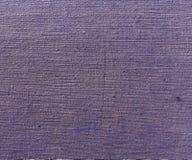 Grungy abstrakt textiltextur med skrapor Royaltyfria Bilder