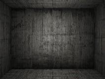 Grungy achtergrond van de conreteruimte Stock Foto's