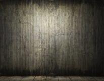 Grungy achtergrond van de conreteruimte Stock Afbeelding