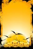 Grungy achtergrond van Halloween stock illustratie