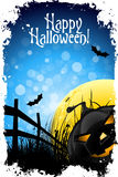 Grungy Achtergrond van Halloween Stock Fotografie