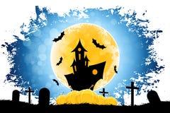 Grungy achtergrond van Halloween Stock Afbeelding