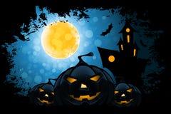 Grungy achtergrond van Halloween Stock Foto