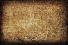 Grungy Achtergrond van het Canvas Stock Fotografie