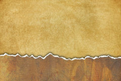 Grungy alter Hintergrund mit heftigem Papier und viel O lizenzfreie abbildung