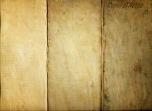 Grungy altes gefaltetes Gewebe Stockfoto
