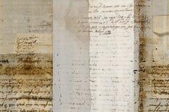 Grungy antieke perkamentachtergrond vector illustratie
