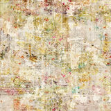 Grungy Antieke Uitstekende BloemenAchtergrond Stock Afbeeldingen