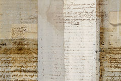 Grungy antique parchment background Royalty Free Stock Image