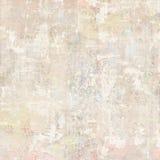 Grungy Antykwarski rocznik Kwiecistej tapety kolażu tło Obrazy Stock