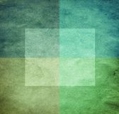 Grungy Aquarell-wie grafischer abstrakter Hintergrund Lizenzfreie Stockfotos