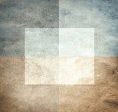 Grungy Aquarell-wie grafischer Hintergrund Lizenzfreies Stockfoto