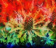 Grungy Art. Royalty-vrije Stock Afbeeldingen