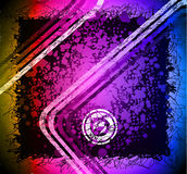 Grungy Artistic Background with rainbow colours Royalty Free Stock Photo