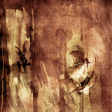 Grungy artistieke achtergrond vector illustratie