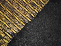 Grungy asphalt background Stock Image