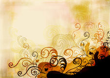 Grungy background. Illustration of a grungy background Stock Photos