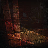 Grungy background. Grungy  background with filmstrips fragments. eps 10 format Royalty Free Stock Image