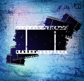 Grungy background. Background with old grungy filmstrip fragments. eps10  file Royalty Free Stock Photo