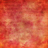 Grungy background. Grungy red canvas with space for text or picture Royalty Free Stock Photo