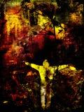 Grungy background. Dark grungy background Stock Photography