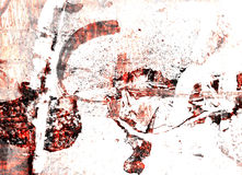 Grungy background. Nice red grungy background Royalty Free Stock Photography