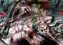 Grungy background. Colorful grungy background Royalty Free Stock Photos