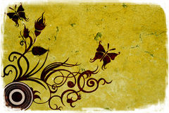 Grungy background vector illustration