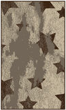 Grungy background with stars Stock Images