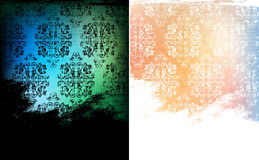 Grungy backgrounds. Grungy vintage style backgrounds  eps10 vector Royalty Free Stock Image