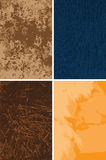 Grungy backgrounds. Set of grungy backgrounds,  eps8 vector file Royalty Free Stock Photography