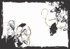 grungy bakgrund stock illustrationer