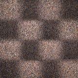 Grungy bakgrund med den fyrkantiga geometriska modellen Royaltyfria Bilder