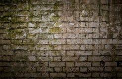 Grungy Bakstenen muur Royalty-vrije Stock Foto