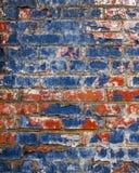 Grungy Bakstenen muur Stock Afbeelding