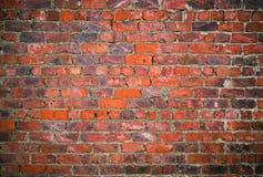 Grungy bakstenen muurtextuur stock foto
