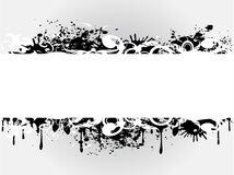 Grungy banner vector illustration