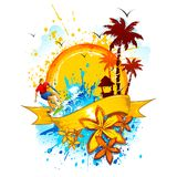 Grungy Beach Royalty Free Stock Photo