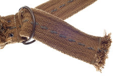 Grungy Belt with Frayed Edges Royalty Free Stock Photo